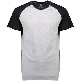 Mons Royale M's Temple Tech T T-Shirt Black/Grey Marl